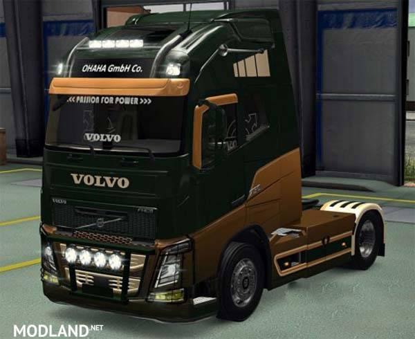 Gambar Modifikasi Truk Volvo Volvo Fh 2012 V18 4 3r Mod For Ets 2