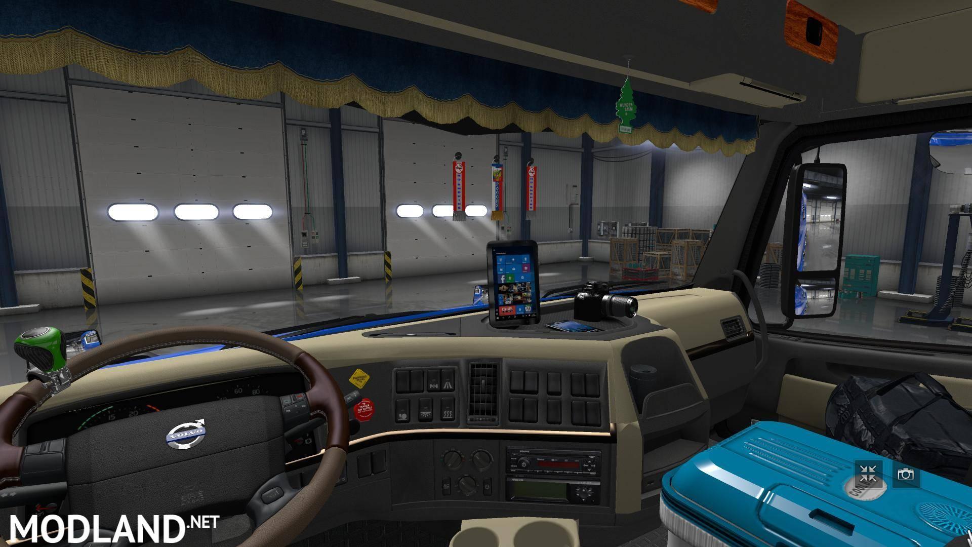 Volvo VNL 780 Truck Shop v3.0 [1.27] mod for ETS 2