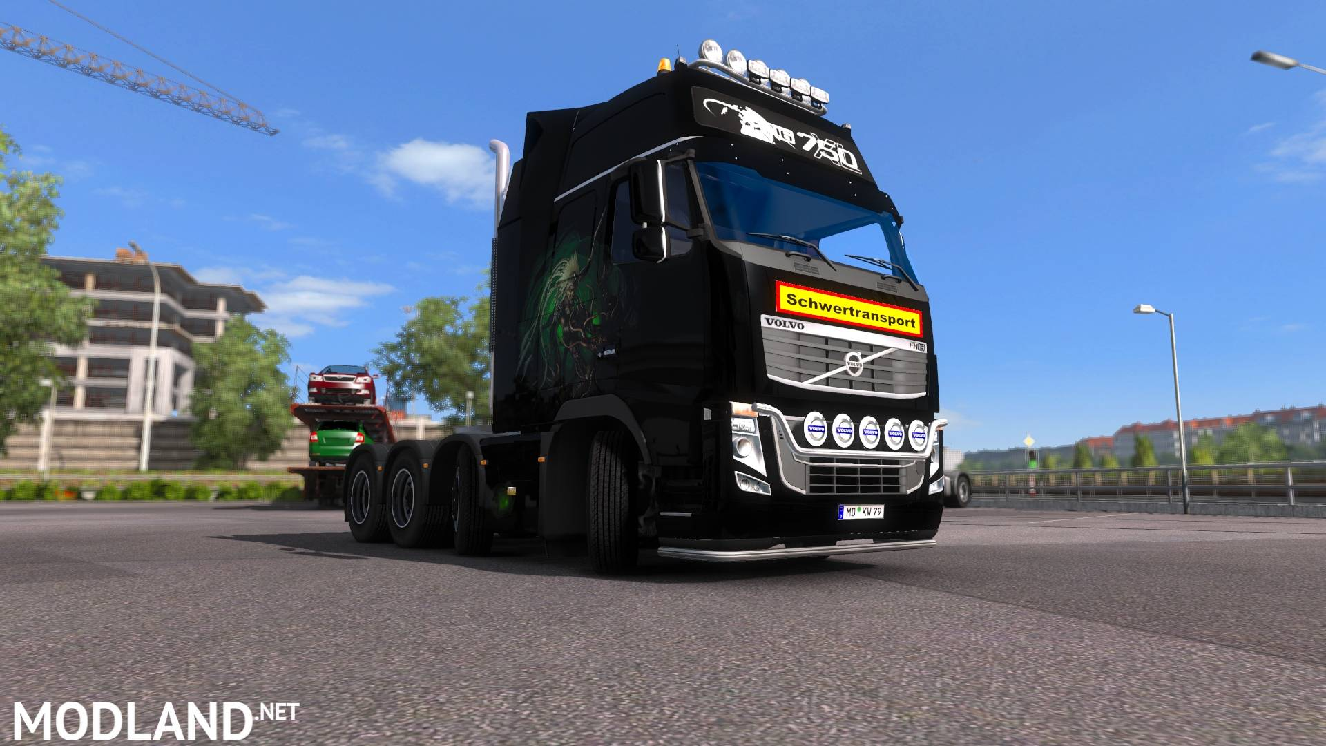 Volvo Truck Center >> Volvo FH16 8x4 mod for ETS 2