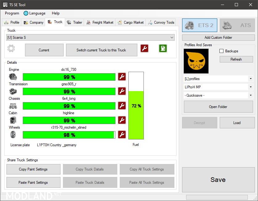 TS SaveEditor Tool   0.2.2.9