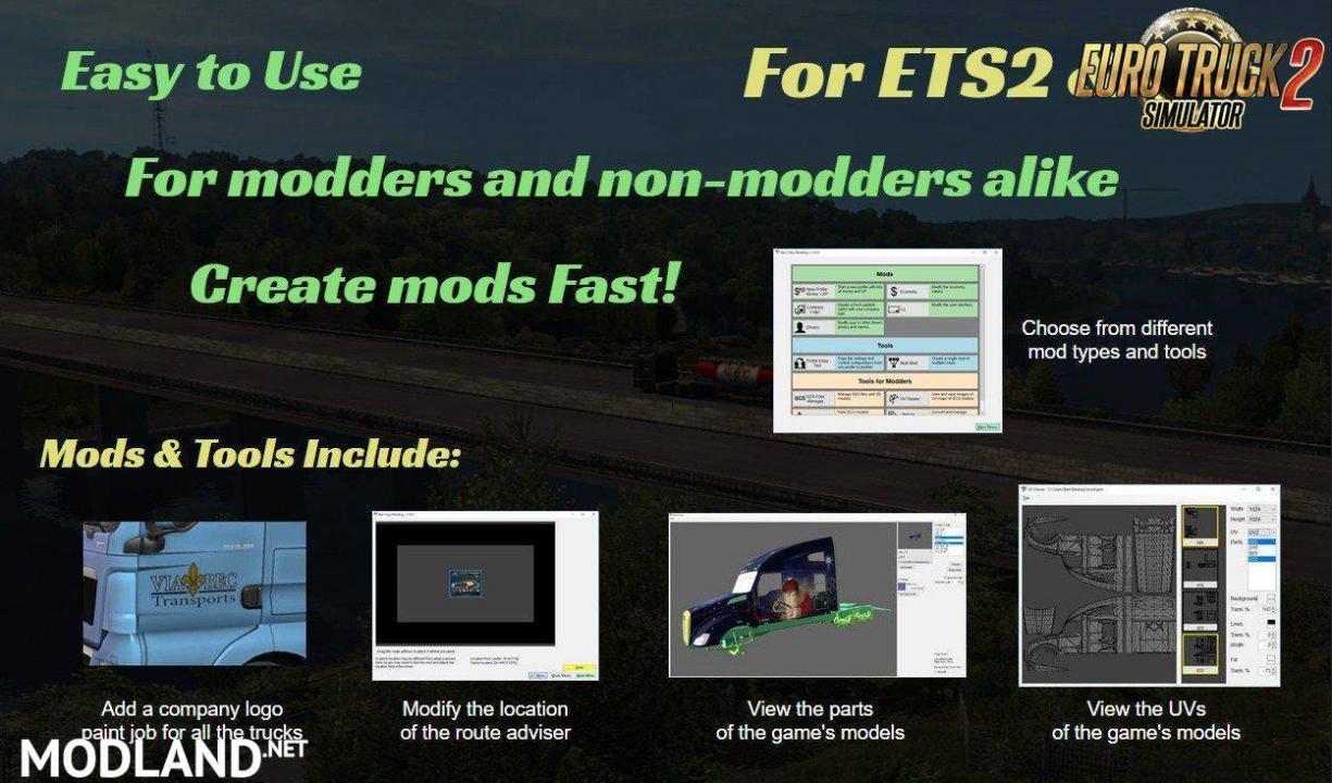 Bens Easy Modding - Create own mod + Tools for modders v1.37.1.2 [1.37 & 1.38]