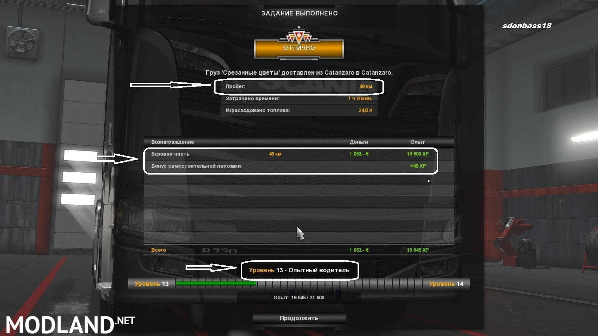 Volvo Truck Dealer >> Start 2000000 euro + XP + Level v2.0 mod for ETS 2