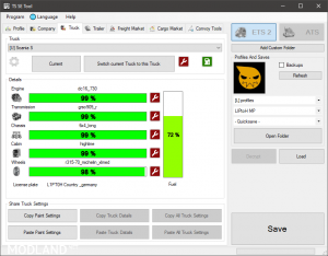 TS SaveEditor Tool | 0.2.2 1.35&up, 2 photo