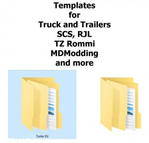 Templates for Trucks and Trailers