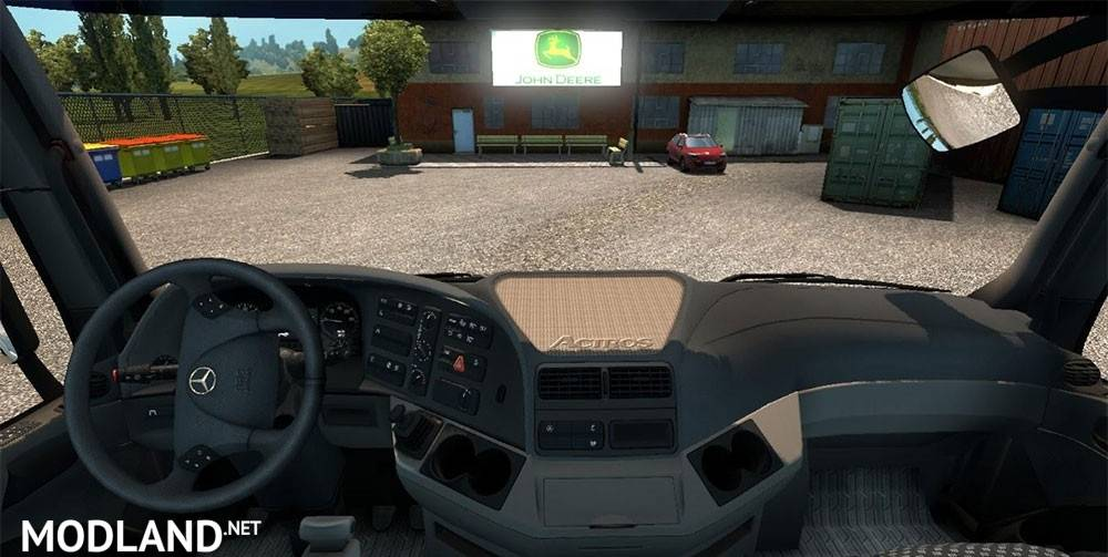 Camera view for all truck mod for ETS 2