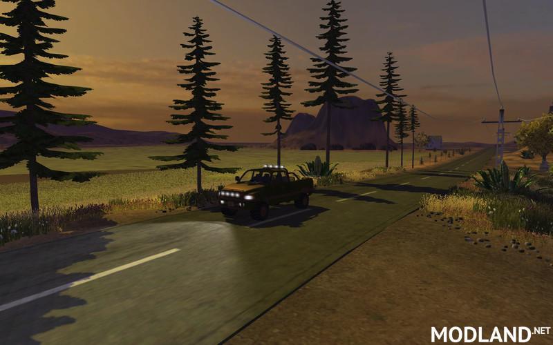 Dodge Ram 4x4 Forest