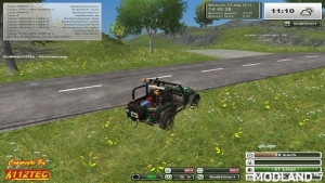 Jeep Wrangler v 1.0 Forest Edition, 10 photo