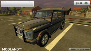 Mercedes Benz G500 Police Edition v2.0