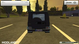 Mercedes Benz G500 Police Edition v2.0, 4 photo