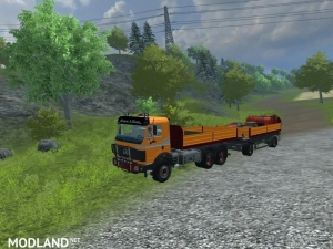 Mercedes Benz SK 2653 timber loader v 2.0