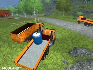 Mercedes Benz SK 2653 timber loader v 2.0, 2 photo