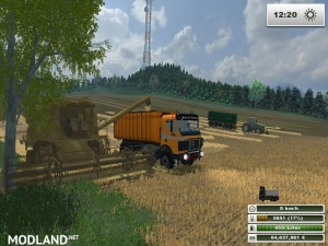 Mercedes Benz SK 2653 timber loader v 2.0, 20 photo