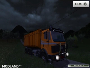 Mercedes Benz SK 2653 timber loader v 2.0, 21 photo