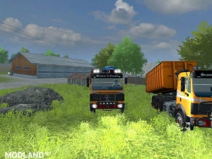 Mercedes Benz SK 2653 timber loader v 2.0, 3 photo