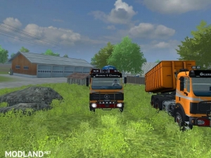 Mercedes Benz SK 2653 timber loader v 2.0, 4 photo