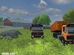 Mercedes Benz SK 2653 timber loader v 2.0, 5 photo