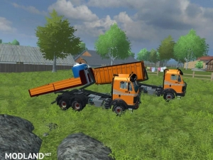 Mercedes Benz SK 2653 timber loader v 2.0, 6 photo
