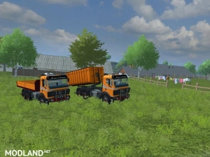 Mercedes Benz SK 2653 timber loader v 2.0, 7 photo