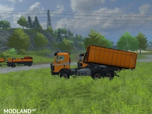 Mercedes Benz SK 2653 timber loader v 2.0, 8 photo