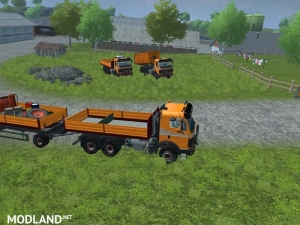 Mercedes Benz SK 2653 timber loader v 2.0, 9 photo