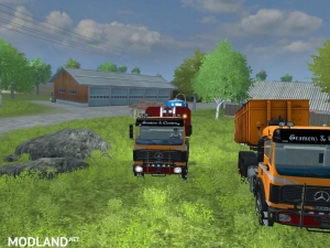 Mercedes Benz SK 2653 timber loader v 2.0, 10 photo