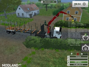 Mercedes Benz SK 2653 timber loader v 1.0, 2 photo