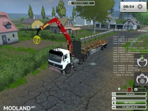 Mercedes Benz SK 2653 timber loader v 1.0, 1 photo