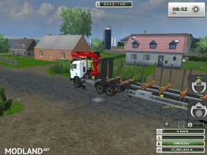 Mercedes Benz SK 2653 timber loader v 1.0, 4 photo