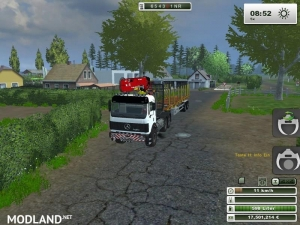 Mercedes Benz SK 2653 timber loader v 1.0, 5 photo
