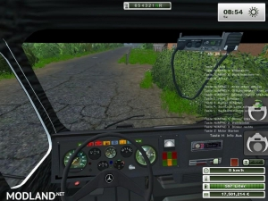 Mercedes Benz SK 2653 timber loader v 1.0, 3 photo