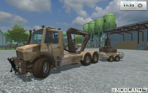Unimog Crane Devices Trailer v 1.0