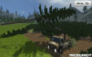 Unimog Crane Devices Trailer v 1.0, 2 photo