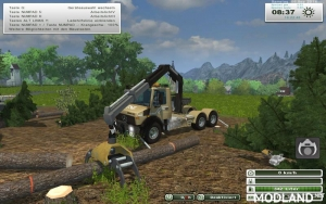 Unimog Crane Devices Trailer v 1.0, 3 photo
