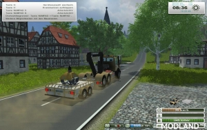 Unimog Crane Devices Trailer v 1.0, 4 photo