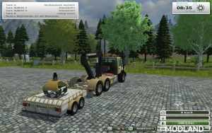 Unimog Crane Devices Trailer v 1.0, 5 photo
