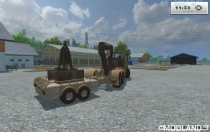Unimog Crane Devices Trailer v 1.0, 8 photo