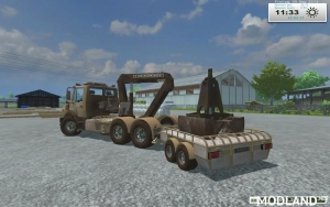Unimog Crane Devices Trailer v 1.0, 9 photo