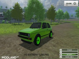 VW Golf Mk1 MG POWER v2.0 Tuning, 1 photo