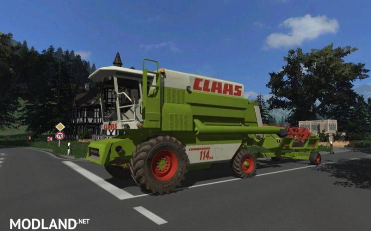 Claas Commandor 114cs