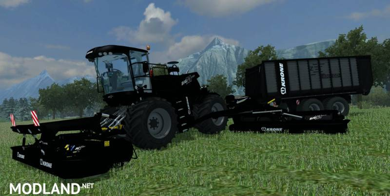 KRONE Big M500BB and ZX450BB
