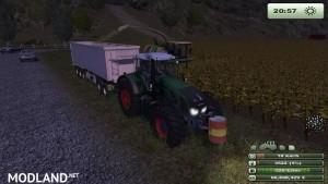 Krone Big X 1000 forage harvester v1.0, 10 photo