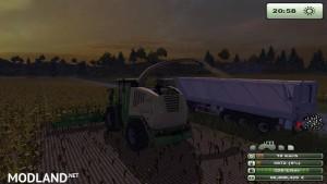 Krone Big X 1000 forage harvester v1.0, 11 photo