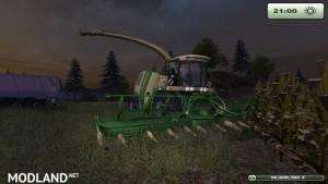 Krone Big X 1000 forage harvester v1.0, 13 photo