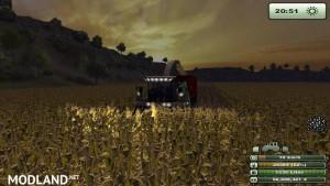 Krone Big X 1000 forage harvester v1.0, 2 photo