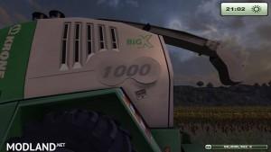 Krone Big X 1000 forage harvester v1.0, 22 photo