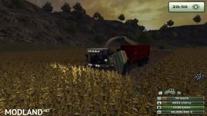 Krone Big X 1000 forage harvester