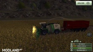 Krone Big X 1000 forage harvester v1.0, 3 photo