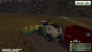 Krone Big X 1000 forage harvester v1.0, 4 photo