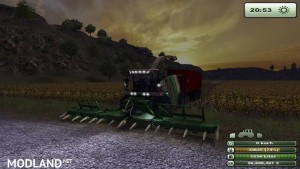 Krone Big X 1000 forage harvester v1.0 - External Download image