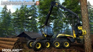 Ponsse Scorpion with Downhill v 0.9 BETA, 20 photo